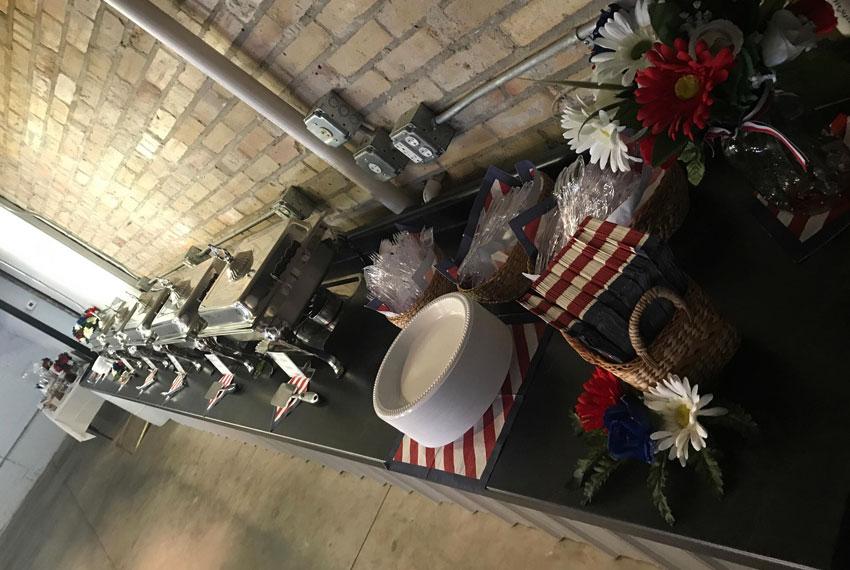 the avenue event space buffet in new era michigan